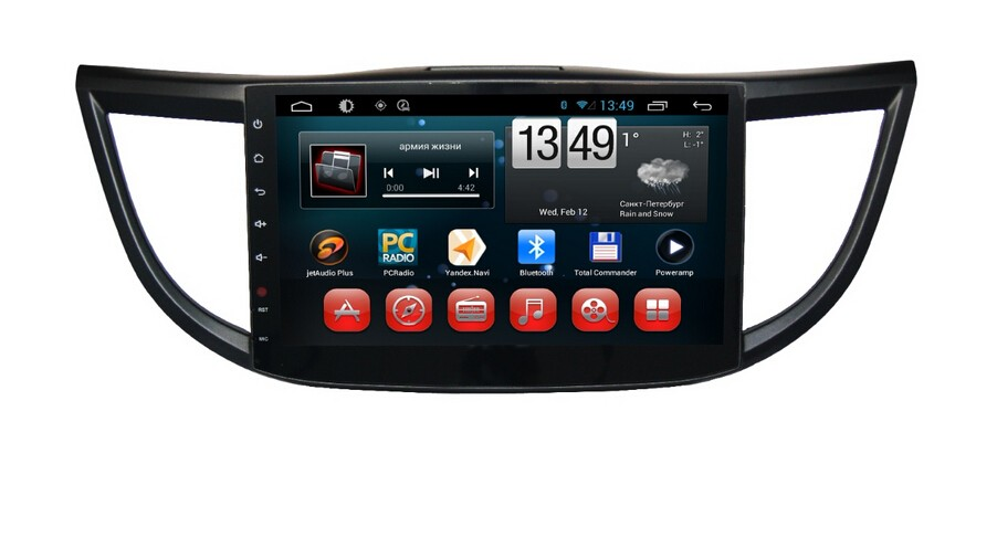 "10.1"" Wholesale HD 1024*600 Capacitive Screen 3G Wifi mirror link for Old CRV pure android 4.4 car dvd player GPS"