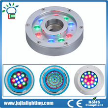 2016 Newest Product High Quality RGB IP68 Waterproof Led Underwater Light Solar pool light (CE ROHS)