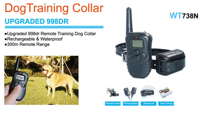 accesorios para perros barking dog sensor dog training collar PTS-018