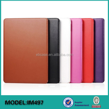 New book style leather stand case for iPad Mini 4 tablet case