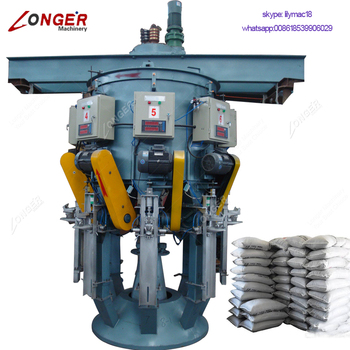 25Kg 50Kg Automatic Cement Powder Bag Weighing Filler Pack Sealing Talcum Powder Filling Packing Plant Cement Packaging Machine