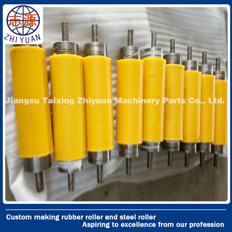 wholesale standard small rubber idler roller belt conveyor UV roll from factory