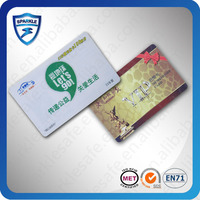 Customized Printing rfid PVC ID Cards/ Plastic Sample Employee rfid ID Cards