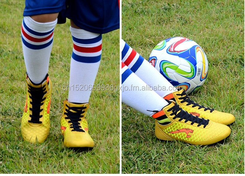 Top quality turf ag soccer shoes, outdoor sport for kids soccer shoes original quality branded soccer boots