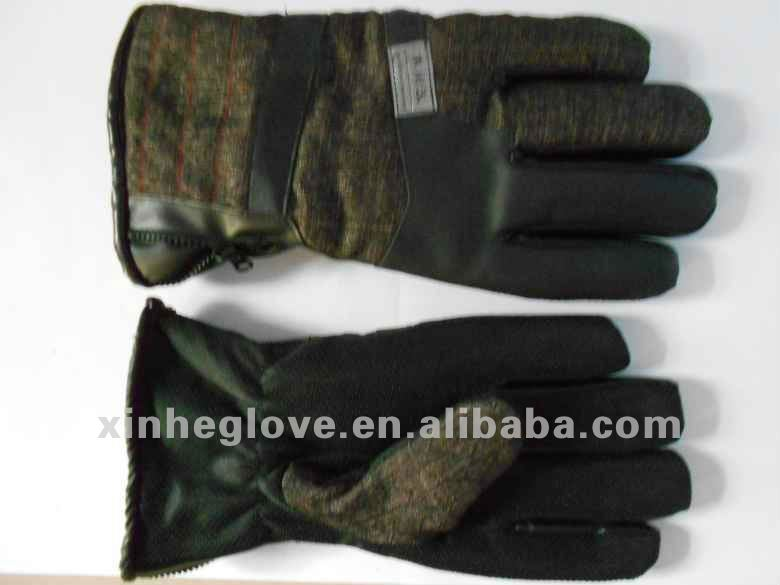 skiing cotton winter gloves
