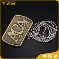 factory supply Custom metal dog tag factory