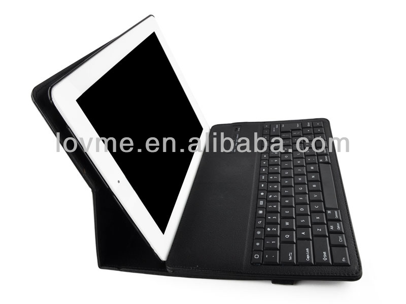Bluetooth Keyboard for Galaxy Tablet 10.1 P7510 P7500 w/ PU Leather Case