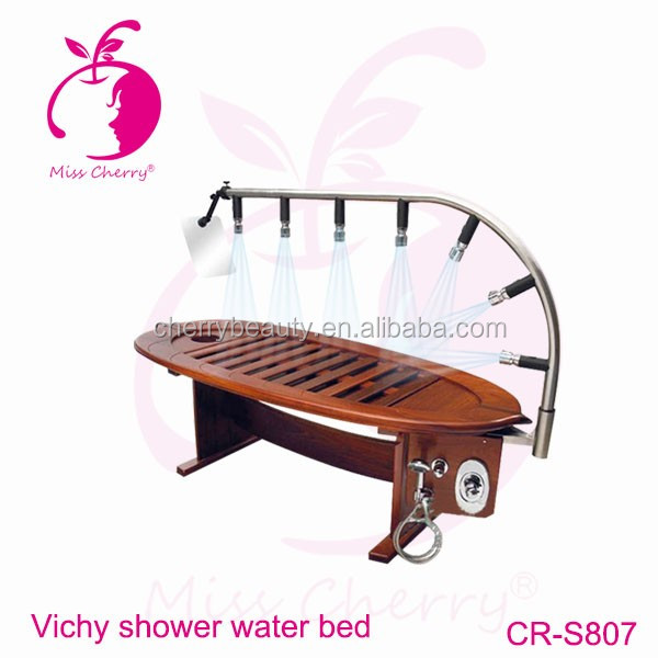 chinese factory wholesale price water shower massage bed wooden table