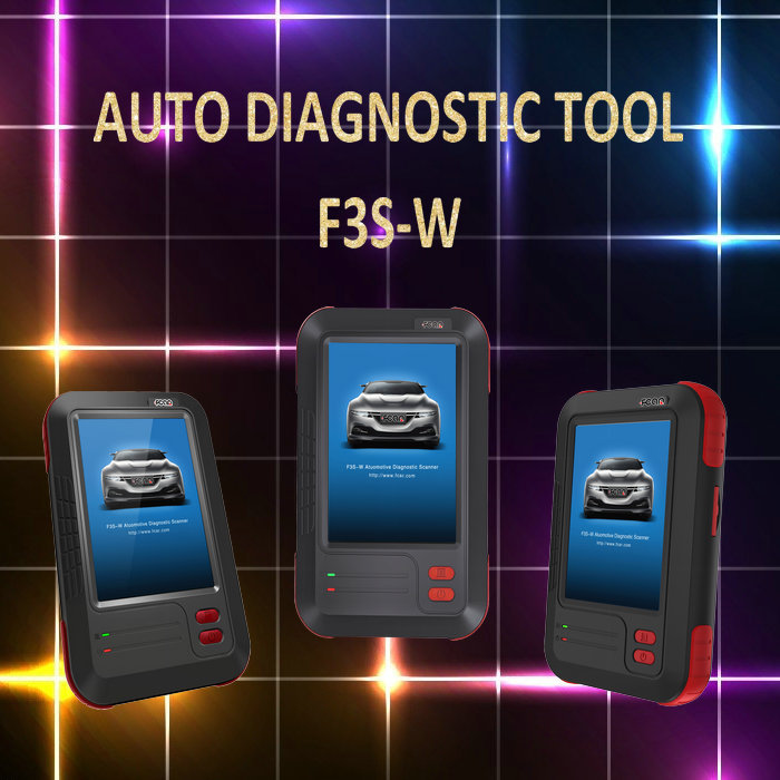 Auto Scanner for all cars, Fcar F3S-W Car Diagnostic Scanner,key coding
