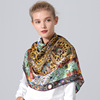 Fashion Floral Woman Silk Scarf Wholesale China