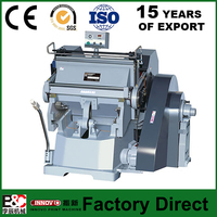 Semi auto creasing machine die cutting machine paper roll cutting machine