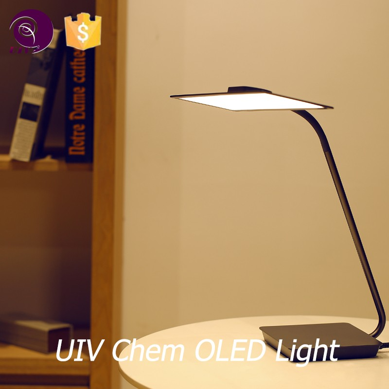 uniform light bedside table lamp magnifying glass