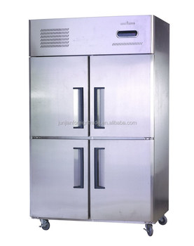 Four door fan cooling stainless steel commercial restaurant kitchen ...
