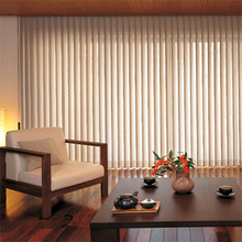 Sliding track and Large Windows blinds lighting adjustable vertical blinds