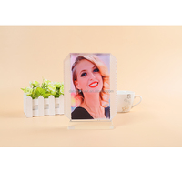 Clear Crystal Acrylic Photo Frame With Magnets For Sale SJX-05