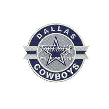 Custom Design Patches Cowboys Iron On Logo Patches