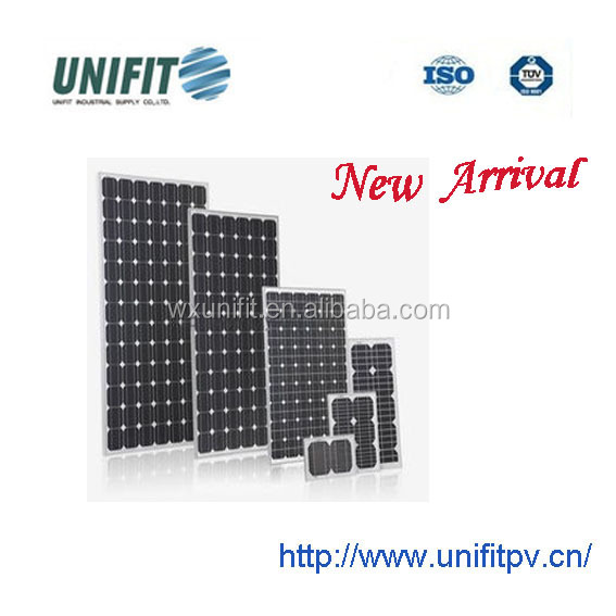 solar panel raw material factory 80-330W A grade with best pv solar panel price