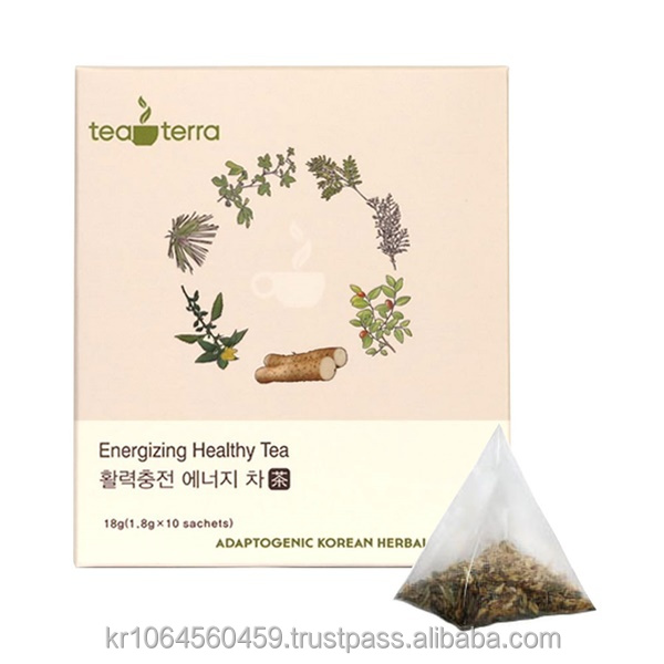 Energizing Tea Recharging your energy on your body for invigorating daily life
