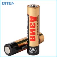 LR03 AAA zinc-manganese dry cell alkaline batteries for home alarms