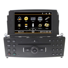 7 inch Car CD DVD Player GPS Radio For Mercedes Benz C Class C200 C180 W204 2008 2009 2010 2011 2012 2013 With RDS