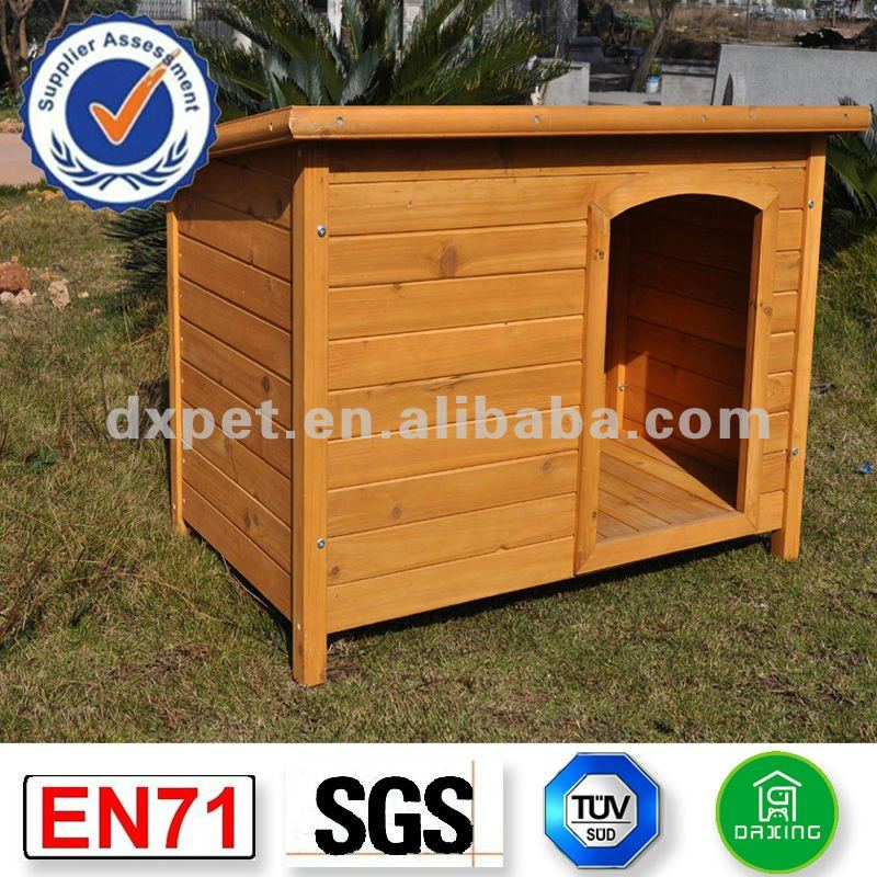 Luxury Timber Wooden Pet Dog Kennel DXDH002