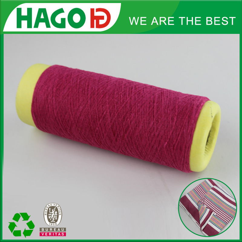 Nm34 regenerated oe poly cotton yarn dyed fabric