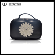 Hot Sale monogrammed flower antique cosmetic case