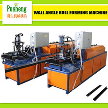 PUSHENG Full-auto galvanize groove ceiling T-Grid roll forming machine T-Bar cold roll forming machine