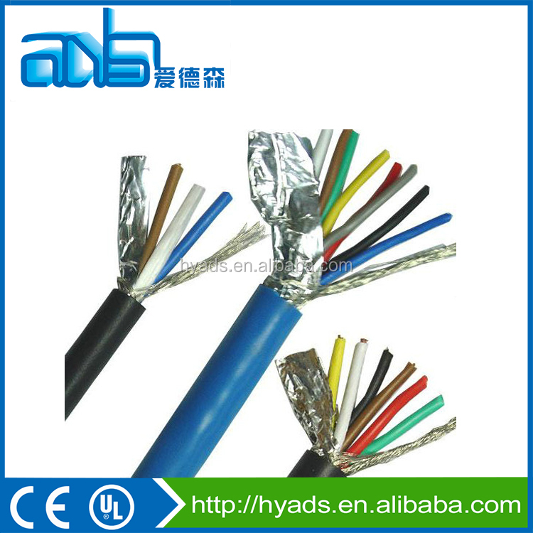 UL 2725 al-foil shielded tinned copper braided usb cable