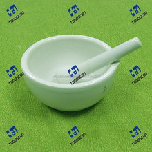 160ml porcelain Mortars With Spout,Pestles,Glazed or Unglazed