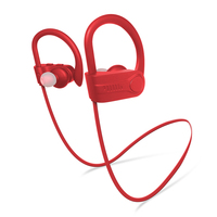 Bluetooth 5.0 Mini Sports Mobile Phone Headset Headphone Earbud Earphone with IPX7 Sweatproof for Running RU13