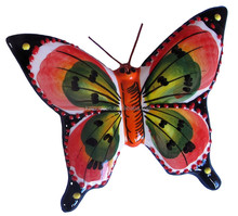 Personalized Handmade Color Glazed Decorative Ceramic Butterfly