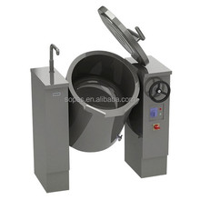 Kitchen Equipments Electric Commercial Industrial Tilting Double Jacket Kettle