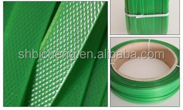 Green Ssemi-Automatic PET Strap For Cotton Bale