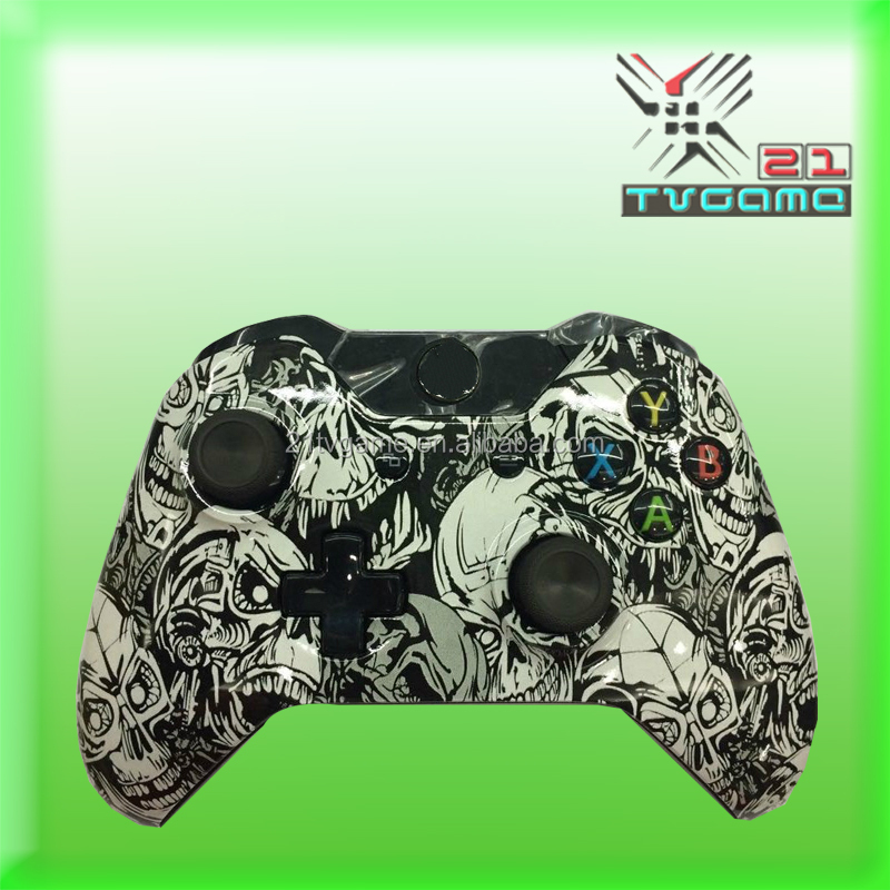 OEM Hydro Dipped Camouflage For Xbox One Controller Wireless Controllers For XBOX ONE Gamepad Joystick Hot selling With Logo