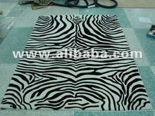 2012 new collection cut pile carpets!Zebra design