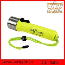 Top Quality Brightness Led Flashlight for Diving