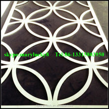 Laser cut screens privacy screens