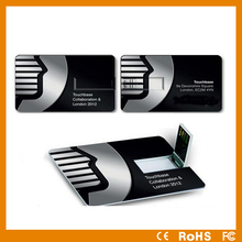 Wholesale slim card 2GB/4GB/8GB swivel USB flash drive free sample