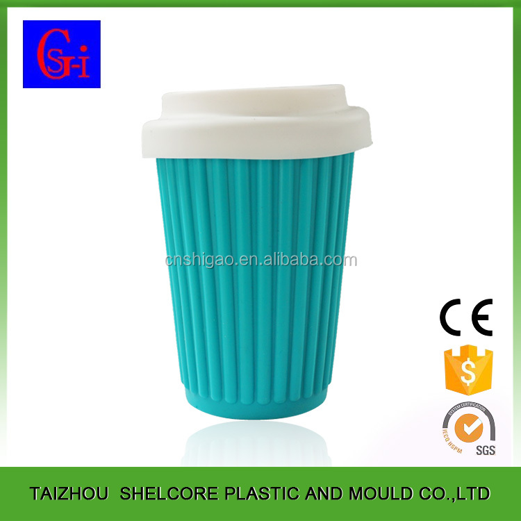 Eco friendly free sample silicone rubber cup sleeve