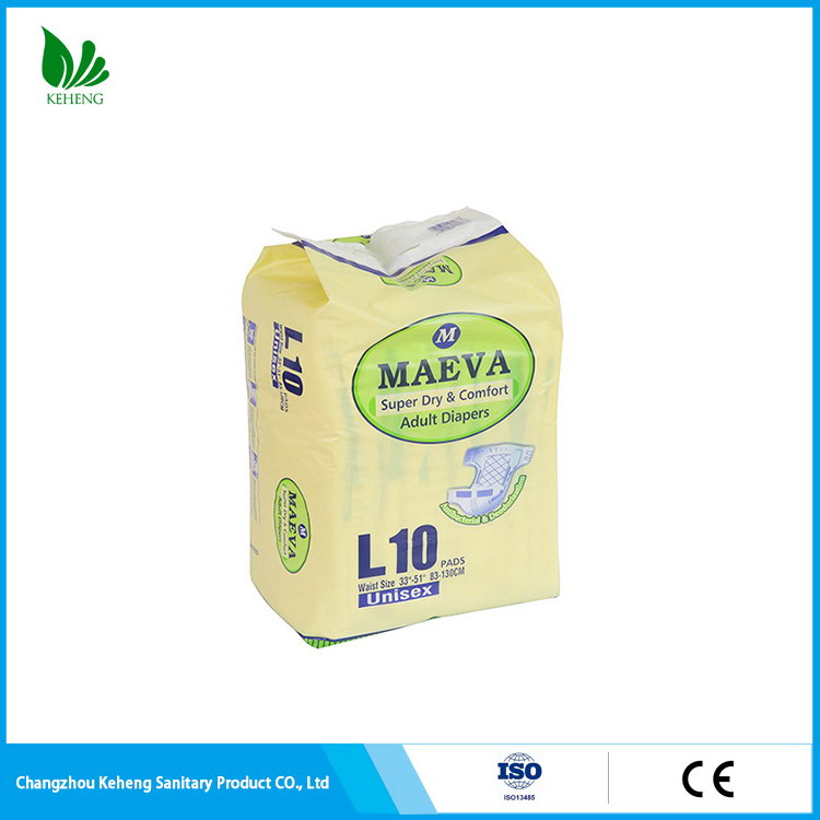 Low price reliable quality adult diaper printed