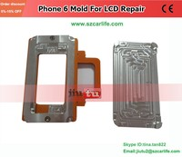 Metal Mold LCD Screen Refurbished Mould Mold For Phone 6 6G Application With Bezel Frame Laminator Machine