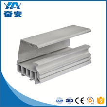 Silver anodized aluminum extrusion window and door profile
