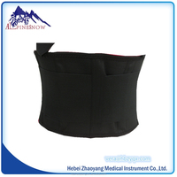 Enhanced waist support belt for people of engaged physical exercise in long term