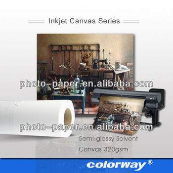solvent surpport 260gsm inkjet artist canvas