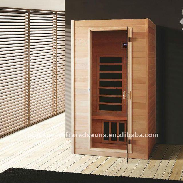 Elegent single infrared sauna