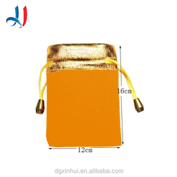 2016 Custom Style Soft Velvet Drawstring Jewelry Pouch Gift bags with String for Wholesale