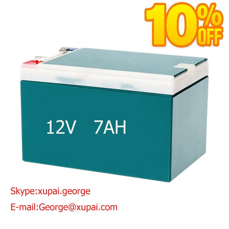 agm Battery 12vdc 7 ampere 20 Hours with Package Box OEM Accepted Made in China