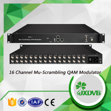 DVB-S2 to IP Mux-scrambling-modulating all in one device IP QAM Modulator with MUX & SCR