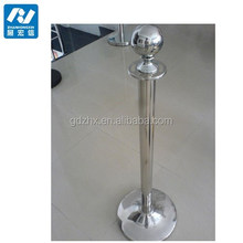 air barrier 0.7mm stanchion pole for hotel